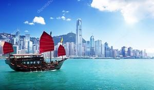 Гонконский пейзаж