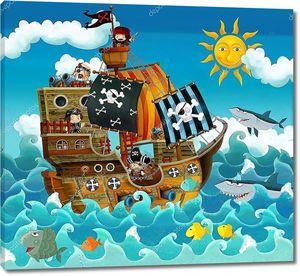 Пираты мультяшные