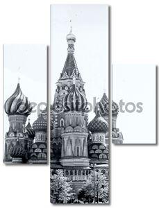 Москва вид Василия Блаженного 1962