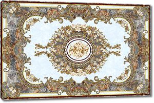 Настенный орнамент из цветов