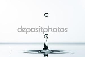 Красивый всплеск воды