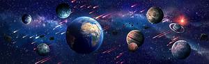 Планеты и звездопад