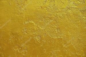 Золотая статуя окрашены