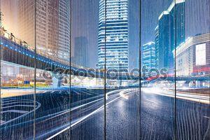 Светящийся ночной город