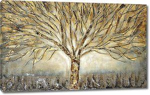 Рисунок дерева без листвы