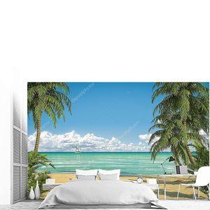 Идиллический Данитц видом на пляж