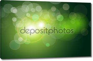 вектор абстрактный фон зеленый свет