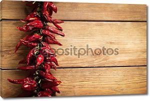 Чили перец на дереве