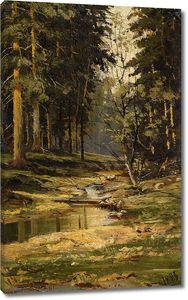 Иван Шишкин. Лесной ручей