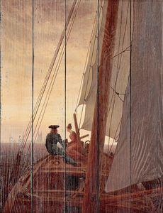 Каспар Давид Фридрих. На борту парусника