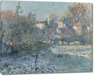 Моне Клод. Мороз, 1875