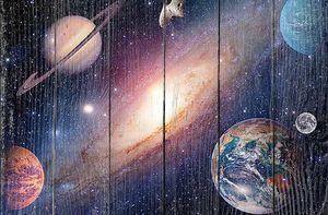 Галактика и планета