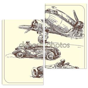 Рука гужевой транспорт - Винтаж Коллекция