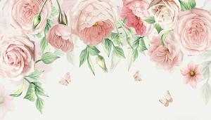Розы нежного оттенка