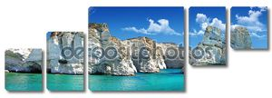 Греческие праздники - красивый остров Милос