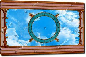 Небо с кругом
