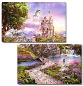 Феи и замок