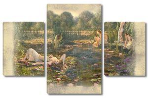 Девушки купающиеся в реке