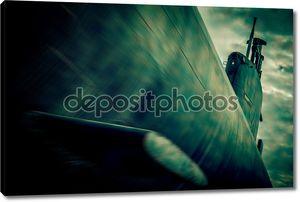 войны подводная схватка - затуманенное стиль фото