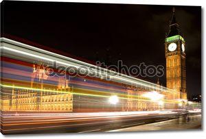 Лондонский парламент и Биг Бен ночью