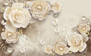 Кофейные розы