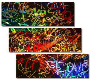 Art graffiti background