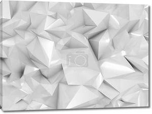 Абстрактный белая геометрия грани
