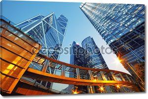 Skyscrapesr в Гонконге