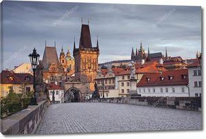 Прага с Карлова моста