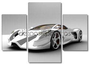 Супер автомобиль концепции