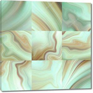 Абстрактная мраморная мозаика