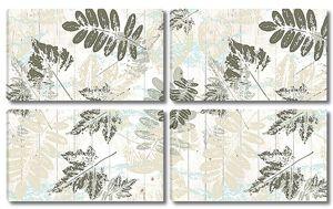 Орнамент из листьев рябины и клена