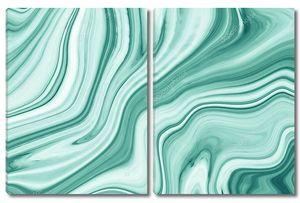 Зеленый мрамор текстура