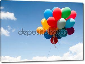 Красочные воздушные шары