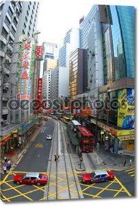 высотных зданий в Гонконге.