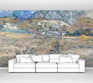 Ван Гог. Пейзаж в Сен-Реми