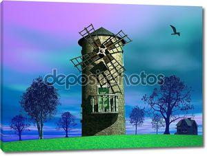старый завод ветра