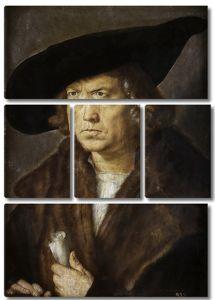 Альбрехт Дюрер. Мужской портрет