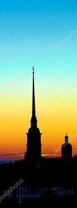 Петропавловка на закате