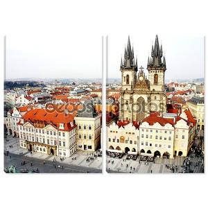 Старый город площадь, Прага, Чешская Республика