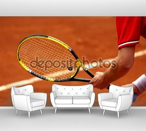 Теннис прием подачи