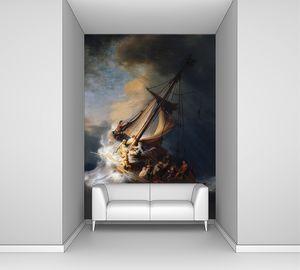 Рембрандт. Буря на море Галилейском