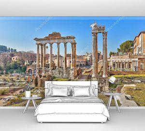 Развалины римского Форума