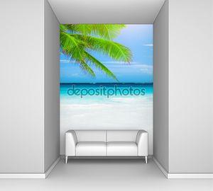 Роскошный пляж курорта