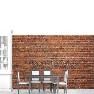 гранжевая кирпичная стена