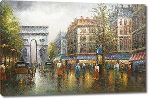 Дождливый день в Париже