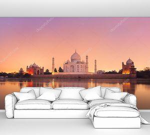 Тадж-Махал Индия на закате