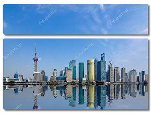 Шанхай в дневное время