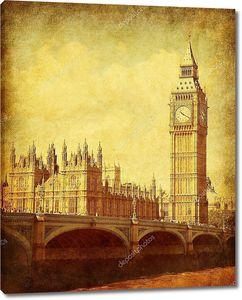 Винтажное фото здания Парламента