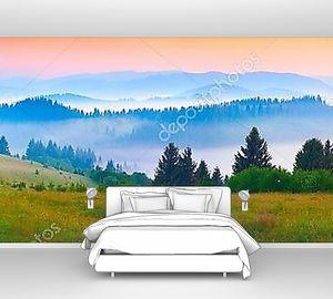 Панорама утреннего восхода